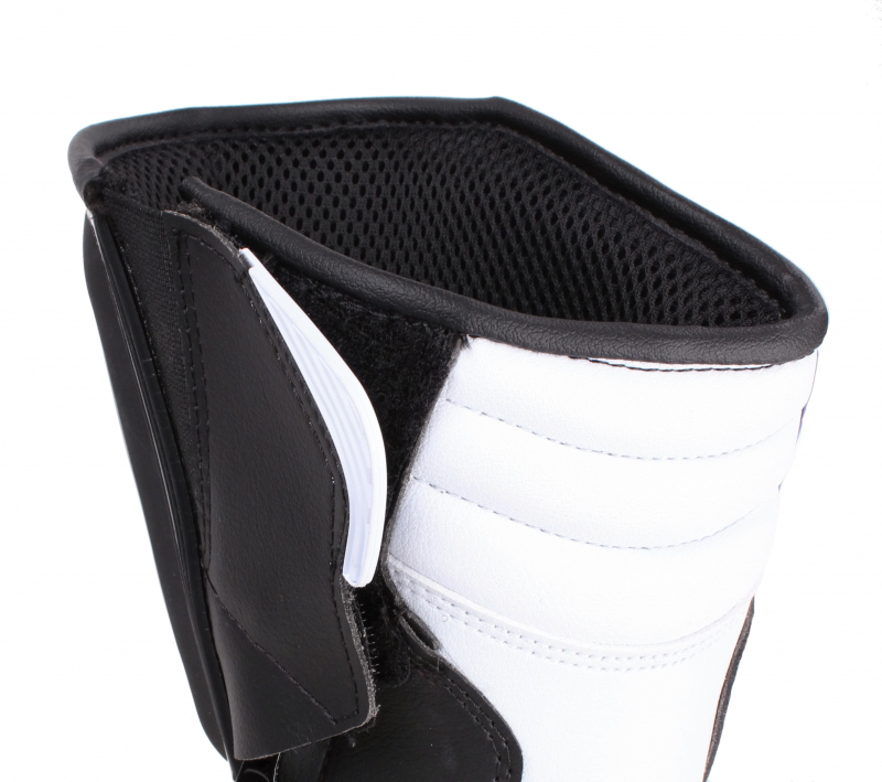 ... Moto boty Forma Freccia černo-bílé ... 863afa612c