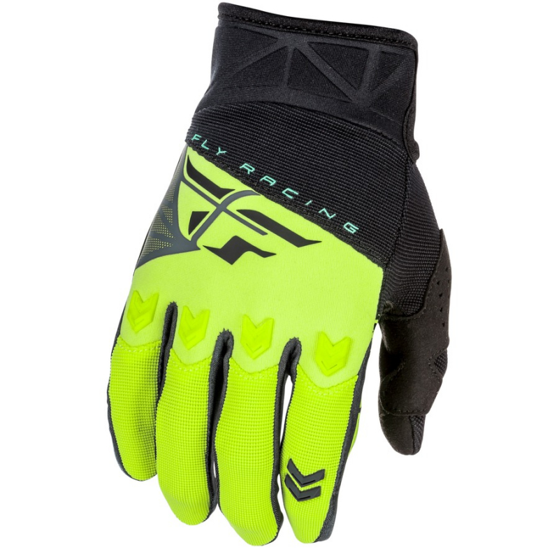 Motokrosové rukavice FLY Racing F-16 2018 - USA černo-fluo žluté ... 994511f44f