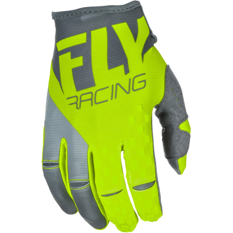 Motokrosové rukavice FLY Racing Kinetic 2018 - USA šedo-fluo žluté ... 9d3782b0ad