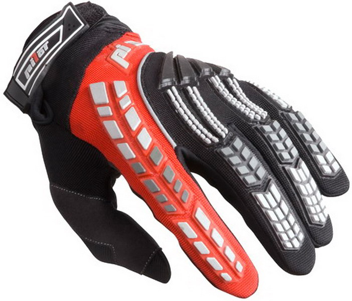 f4b7103e4ca MX rukavice na motorku Pilot černo červené ...