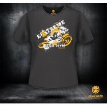 6a5b63724111 Pánské triko Devils Wear - Extreme Sport Motocross Man výprodej