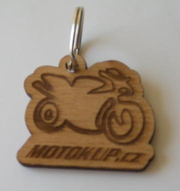 Přívěsek na klíče Motokup  6d5b94e2526