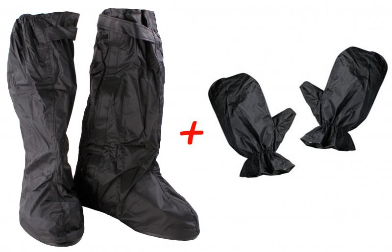 SET  Nepromokavé návleky na boty a rukavice  03eb51991f