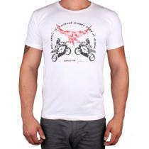 Triko s motivem Motozem Angel bílé dc4bebb845