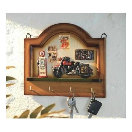 Věšák na klíče dřevěný - 4 háčky 8f9d5ddfe6